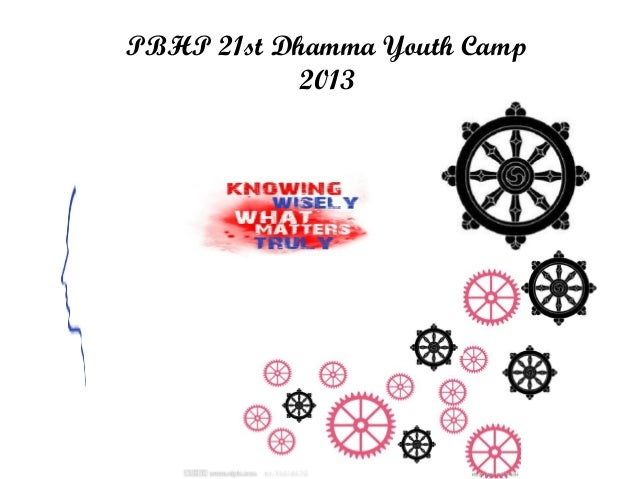 Click to edit Master subtitle style PBHP 21st Dhamma Youth Camp 2013