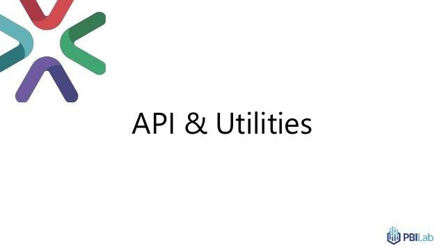 API & Utilities