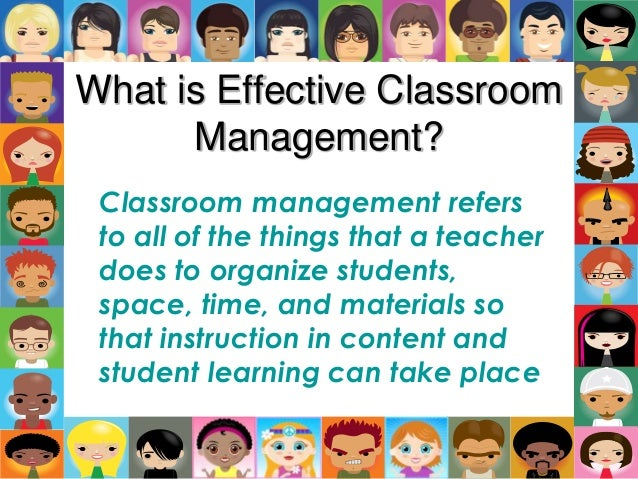 term paper classroom management