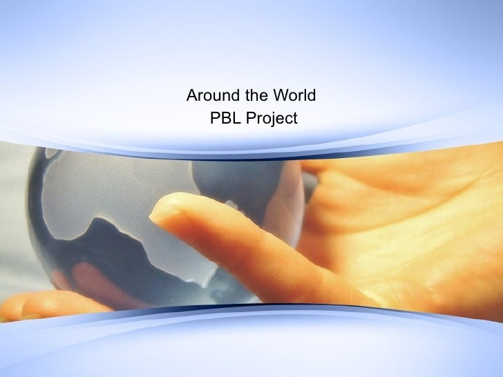 Around the World PBL Project