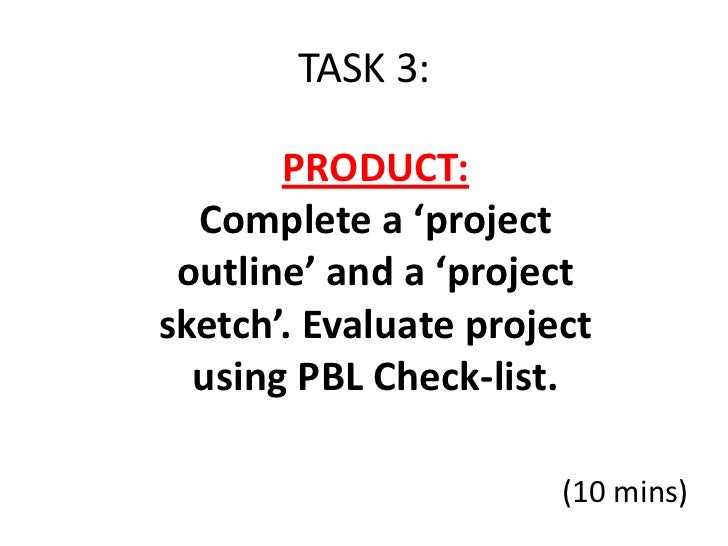 Pbl workshop-task