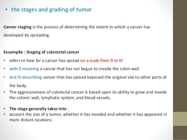 Malignant and benign tumors the stages and grading of for Extra mural meaning