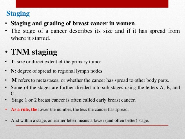 What is 3rd grade breast cancer