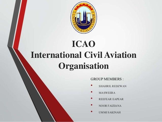 Essay: The International Civil Aviation Organization