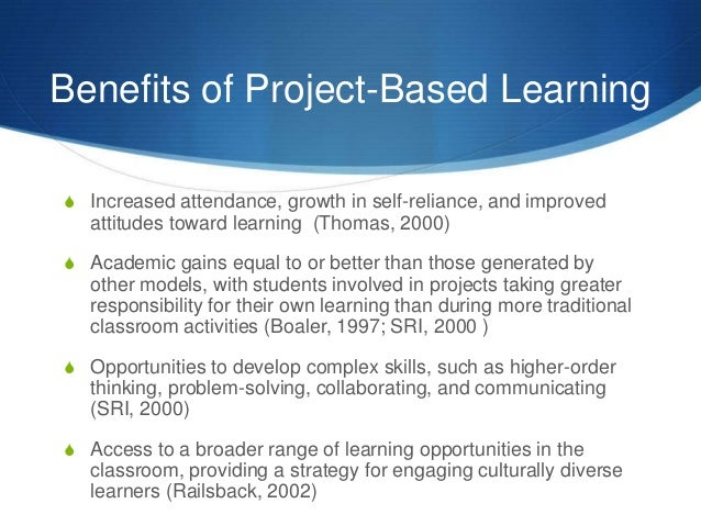 The Projects And Advantages Of Go4cork S Cork: Problem Based Learning