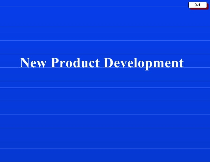 9-1New Product Development