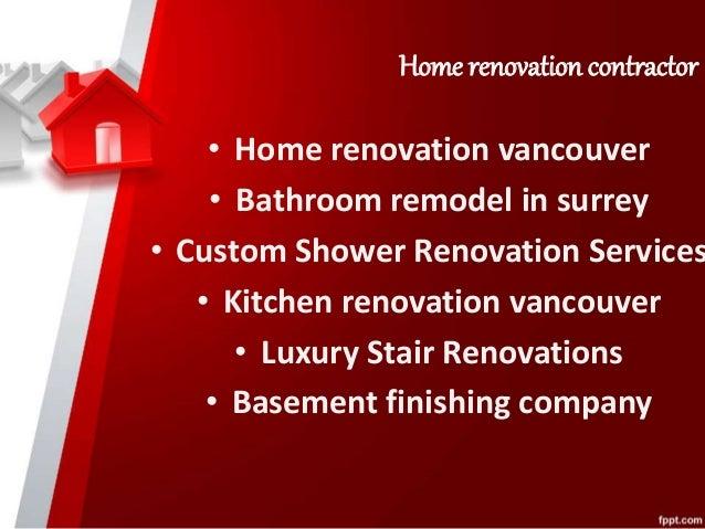 Bathroom renovations vancouver bc|Kitchen renovation vancouver