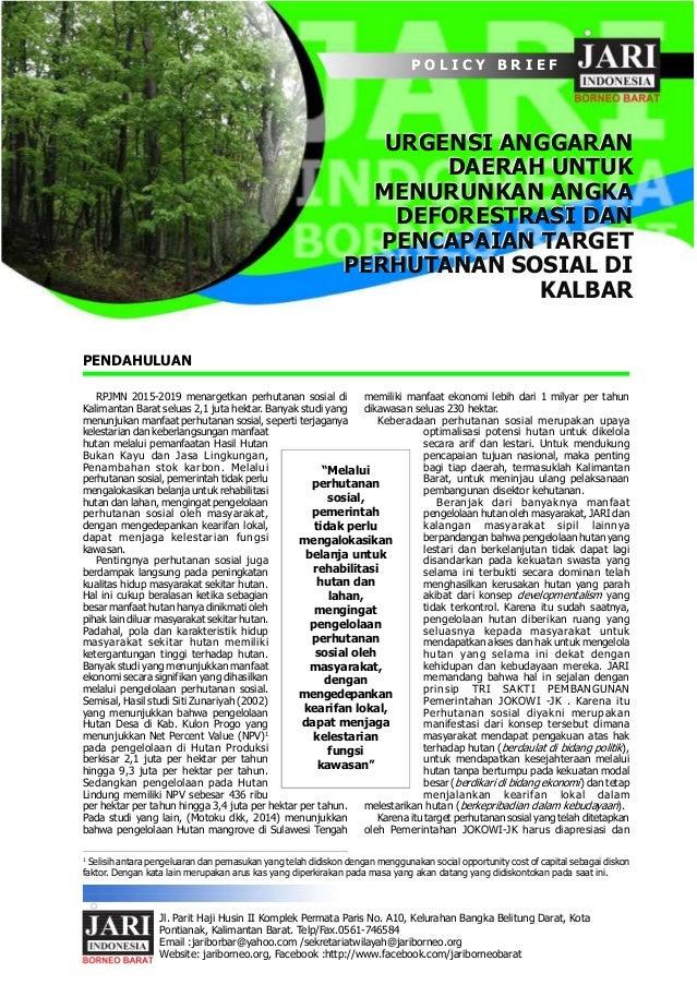 Jl. Parit Haji Husin II Komplek Permata Paris No. A10, Kelurahan Bangka Belitung Darat, Kota Pontianak, Kalimantan Barat. ...