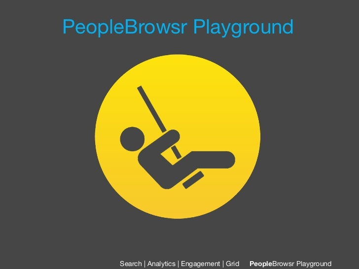 PeopleBrowsr Playground     Search | Analytics | Engagement | Grid   PeopleBrowsr Playground