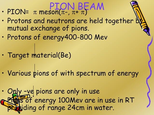 pion muon electron NEUTRON STAR