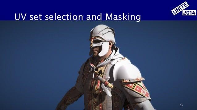 UV set selection and Masking 41