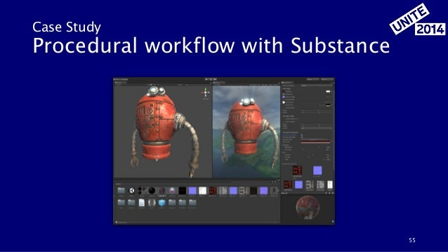 55 Case Study Procedural workflow with Substance