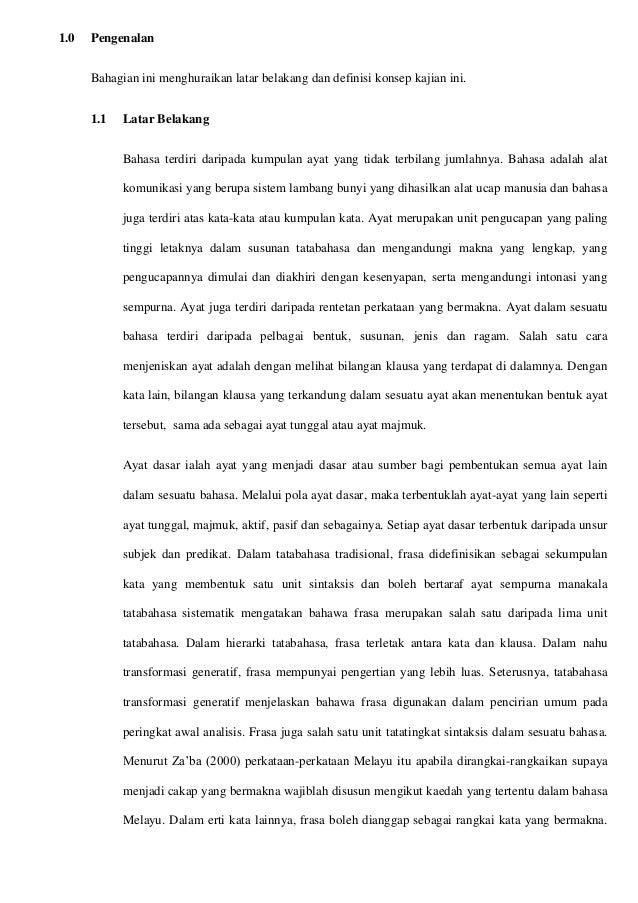 Contoh Kerja Kursus Bahasa Melayu Tingkatan 6 Penggal 3 2015 Stpm