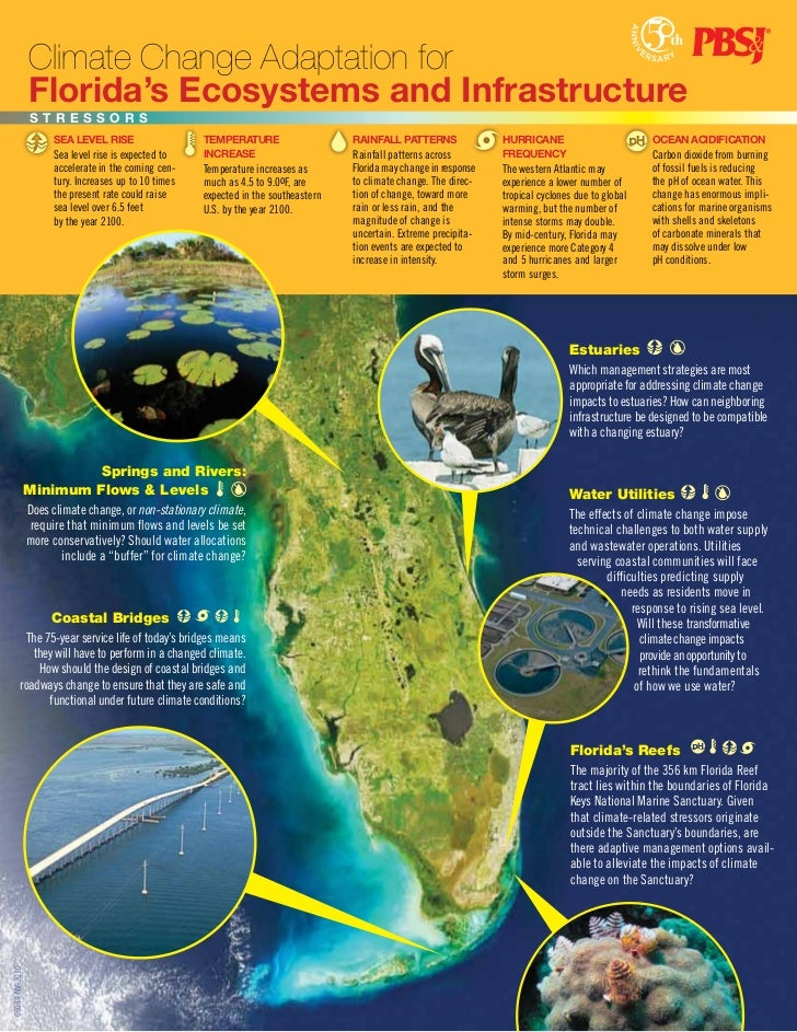 Climate Change Adaptation for                 Florida's Ecosystems and Infrastructure                 STReSSORS           ...