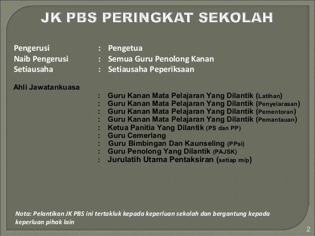 Pelaksanaan PBS Slide 2