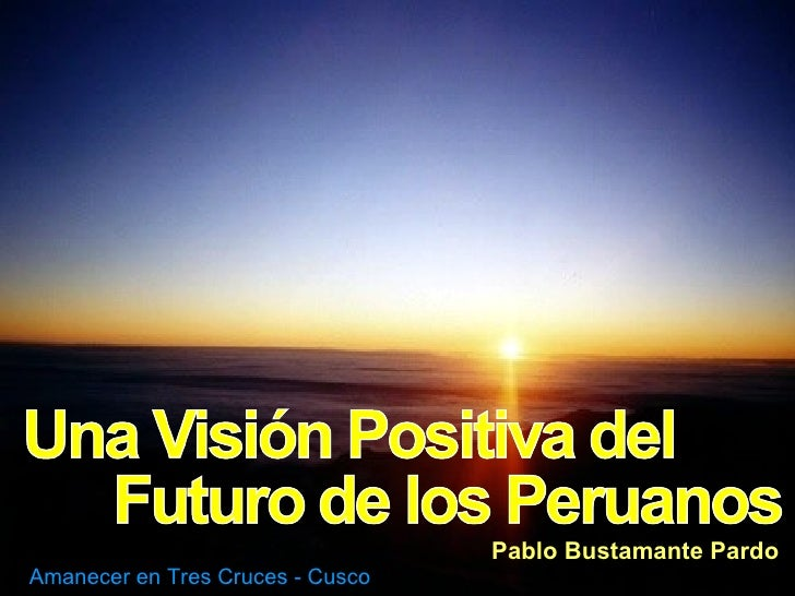 Pablo Bustamante Pardo Amanecer en Tres Cruces - Cusco