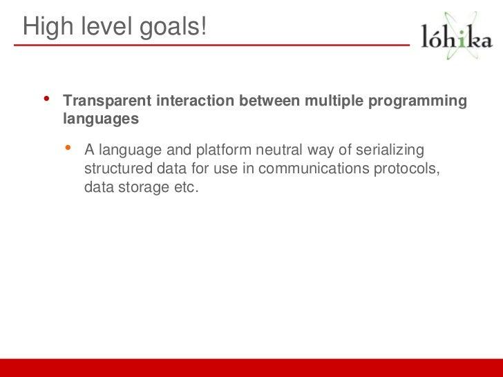Java Serialization Vs Protocol Buffers Documentation