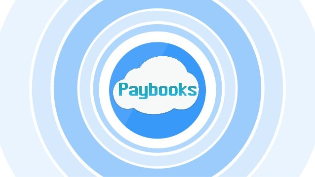 Paybooks - Online Payroll Software