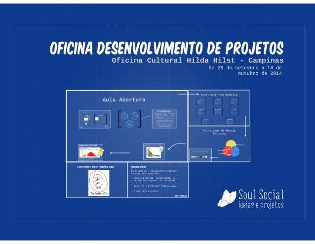 Desenvolvimento de Projetos - Aula de Abertura