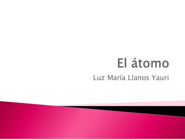 Luz María Llanos Yauri