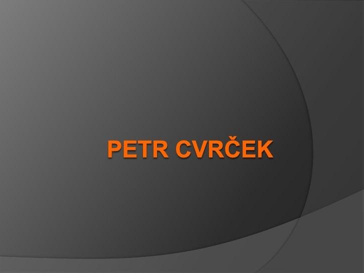 Petr Cvrček<br />