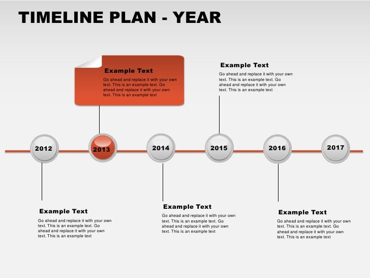 TimeLine Plan Year Free PowerPoint Charts - Free powerpoint timeline templates