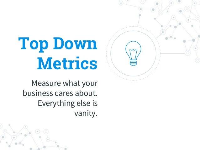 Analytics Measure your metrics