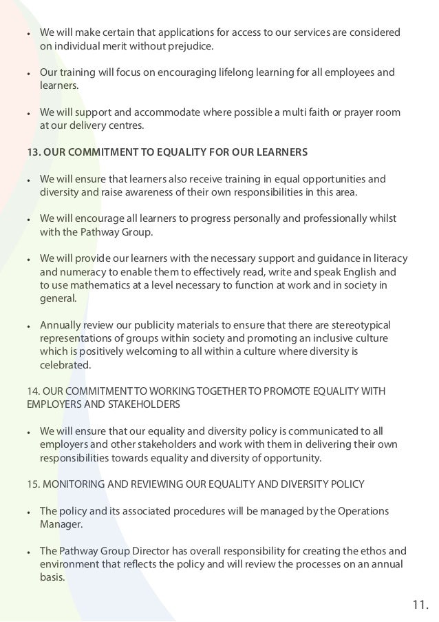 merit 1 equality diversity Model equal employment opportunity program requirements • 1–6, page   employment, consistent with federal merit system principles and.