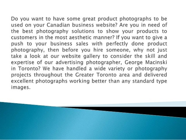 photography service in Canada.