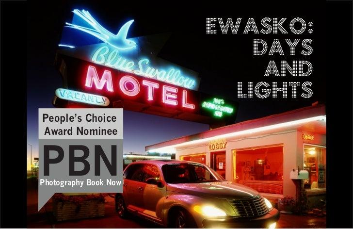 EWASKO:                           DAYS                            AND                         LIGHTSPeople's ChoiceAward N...