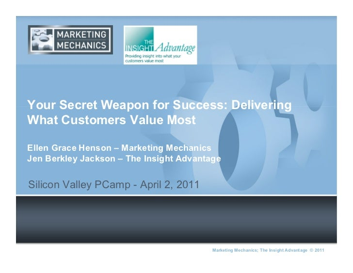 Your Secret Weapon for Success: Delivering What Customers Value Most