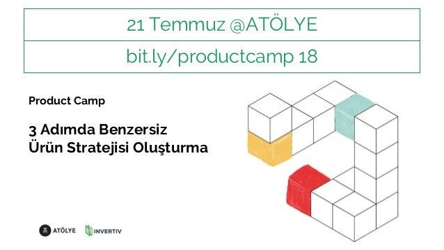 Product Camp - Uçtan Uca Ürün Yönetimi ve Deneyim Tasarımı Semineri Slide 2