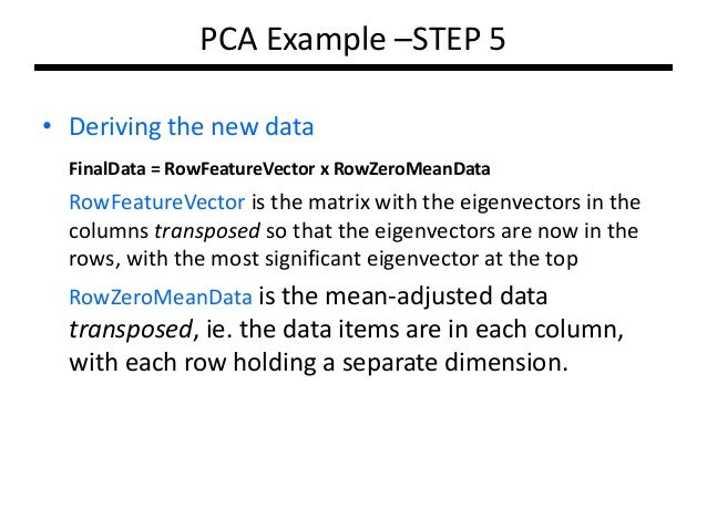 pca sklearn how to choose columns