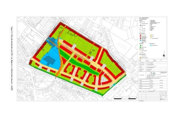 Figure 3- Plan de destination du PCA « la Râperie » à Waremme (Source : AUPA)