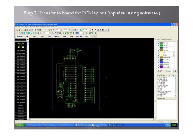 HOW TO MAKE A PRINTED CIRCUIT BOARD