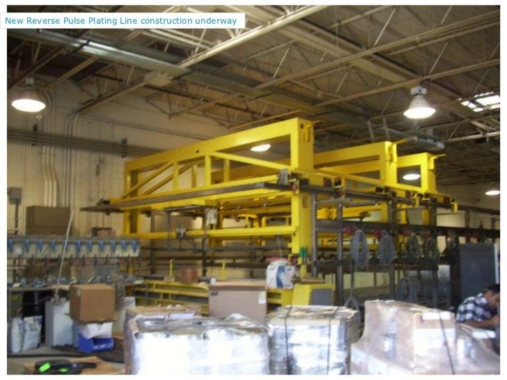 New Reverse Pulse Plating Line construction underway