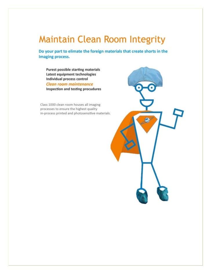 PCB Clean Room, Circuit Board Imaging