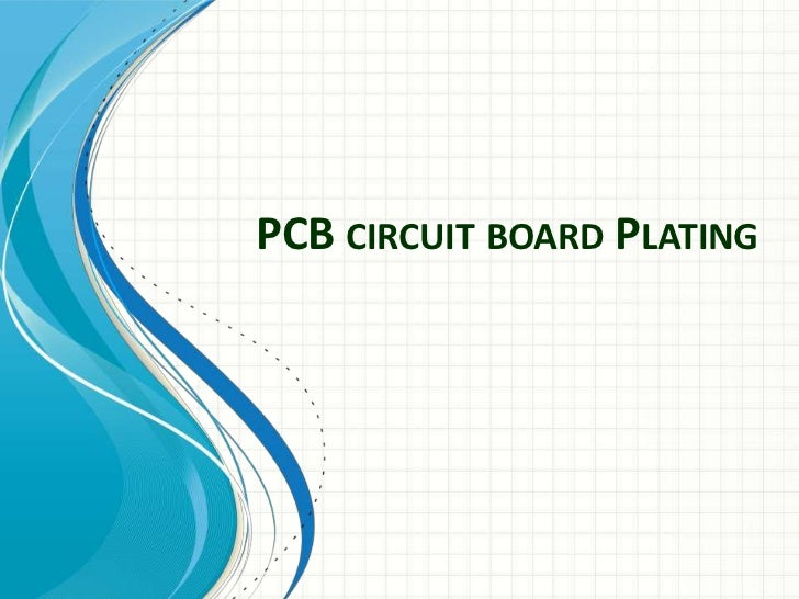 PCB CIRCUIT BOARD PLATING