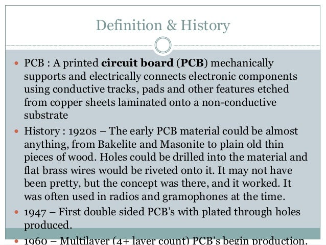 Circuit Board Builder: pcb definition in hindi