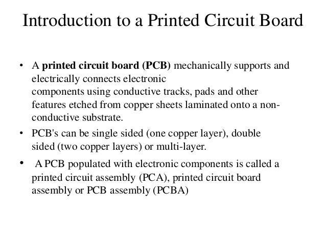 printed circuit board ppt