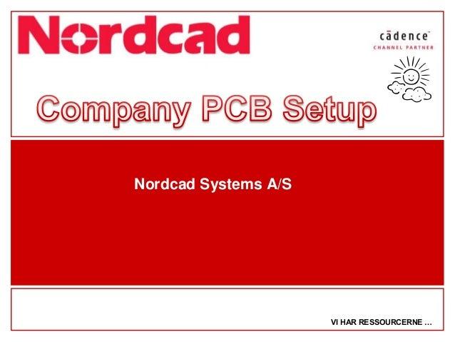 OrCAD / Allegro PCB Editor Design Guide