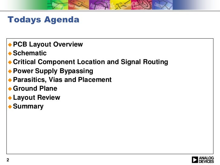 PCB Layout Fundamentals Slide 2