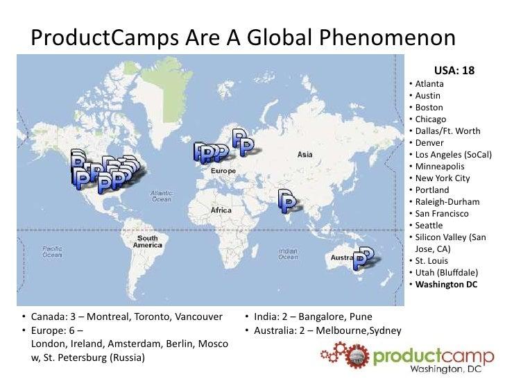 ProductCamps Are A Global Phenomenon                                                                                      ...