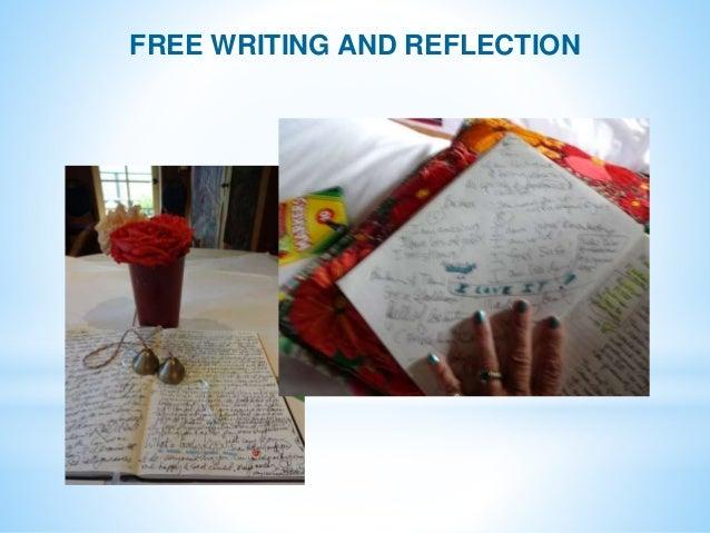 expressive writing sra program