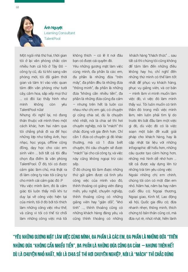"""Quỳnh Mai Thực tập sinh Marketing, CTV đi lớp TalentPool 2/3/2017: Mở mail ra và """"Yeah, mình được nhận đi làm rồi"""". Đó là ..."""