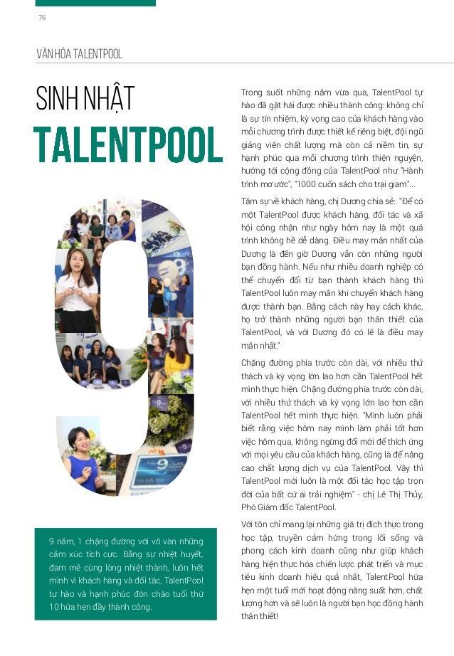 Tomorrow of TalentPool