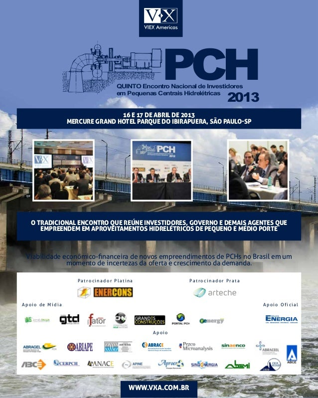 PCH                                  QUINTO Encontro Nacional de Investidores                                             ...