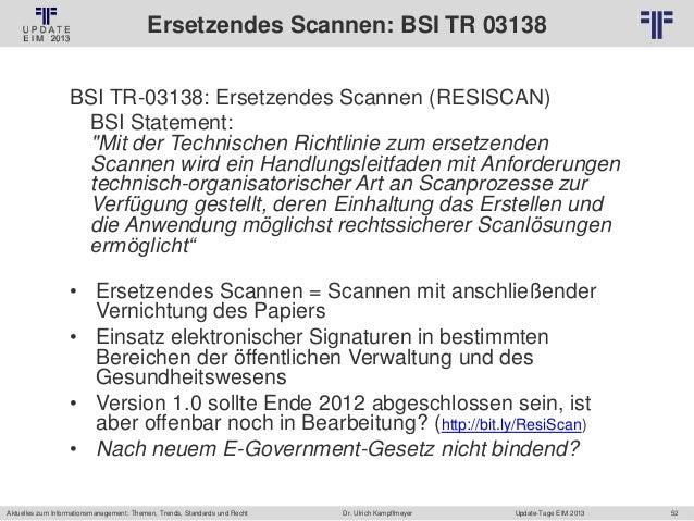 DE] EIM Update 2013   Information Management   Dr. Ulrich Kampffmeye…