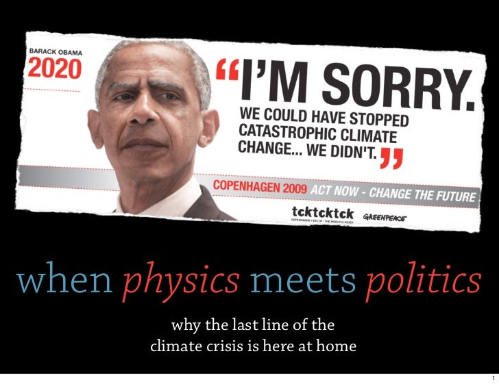 when physics meets politics          why the last line of the       climate crisis is here at home                        ...