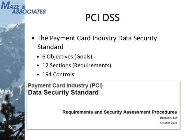 Payment Card Industry Introduction Cmta Apr 2010